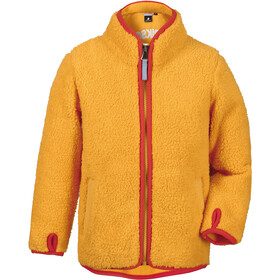 DIDRIKSONS Lo Pile Jacket Kids mellow yellow